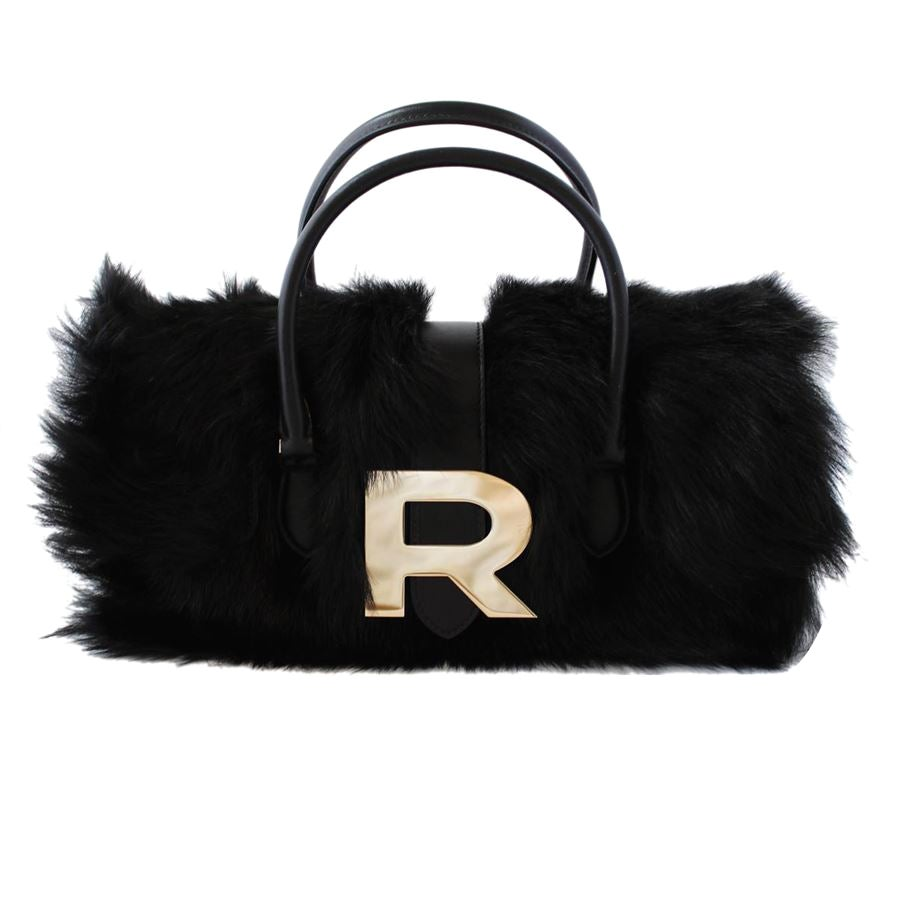 Rochas Fur and Leather Bag