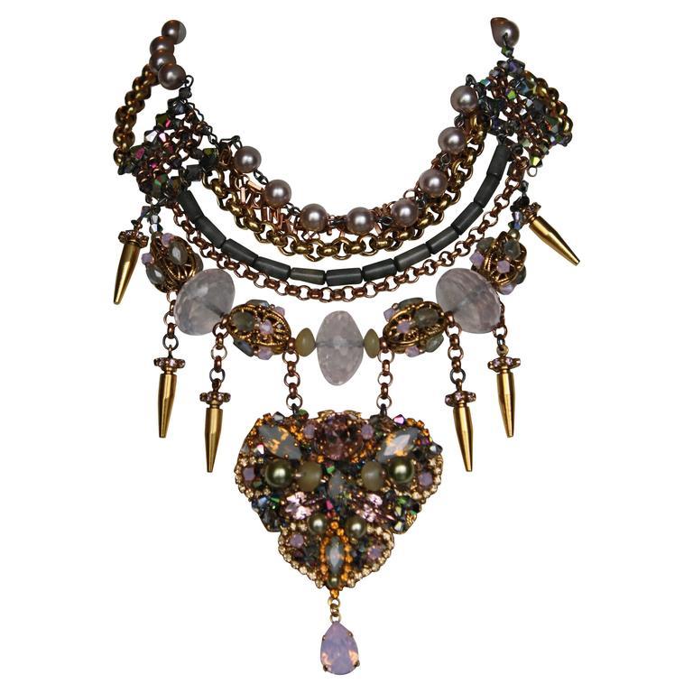 Erickson Beamon Xanadu Necklace For Sale