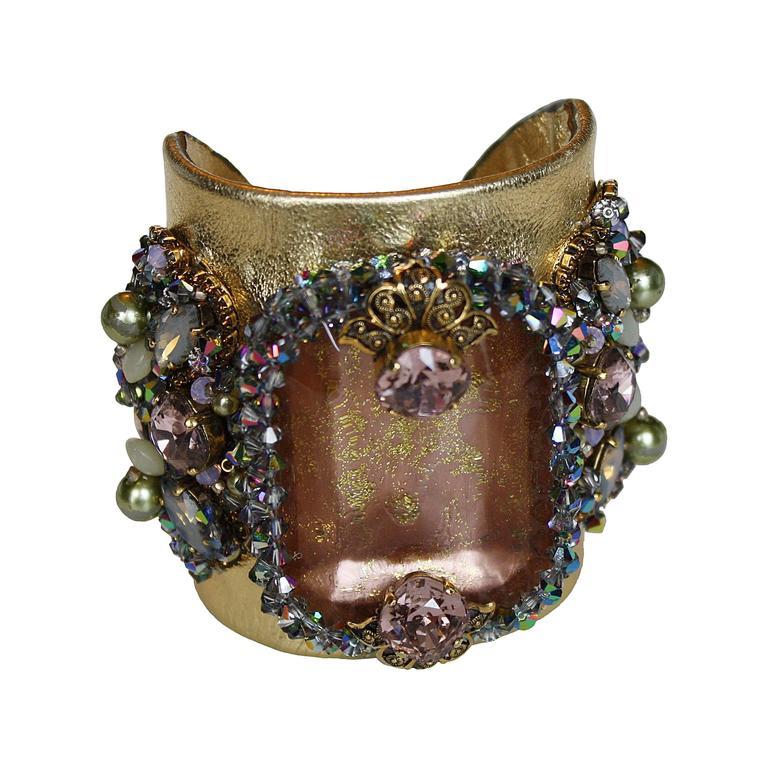 Erickson Beamon Xanadu Cuff Bracelet 1