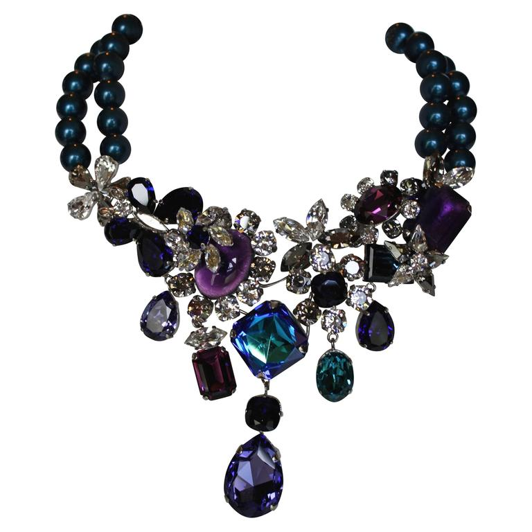 Philippe Ferrandis One of a Kind Traviata Necklace 1