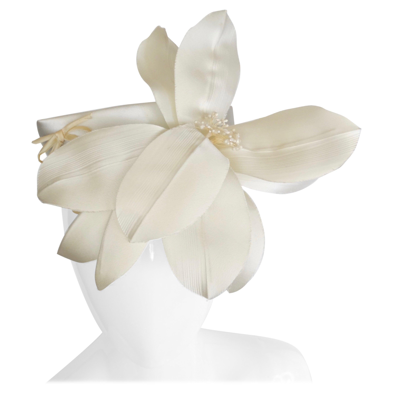 Yves Saint Laurent Silk Floral Head Piece