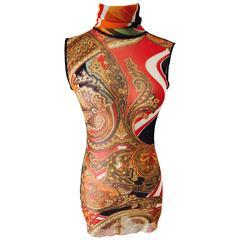 Jean Paul Gaultier Sleeveless Mesh Top
