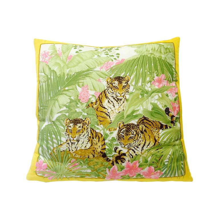Salvatore Ferragamo Silk Twill Pillow
