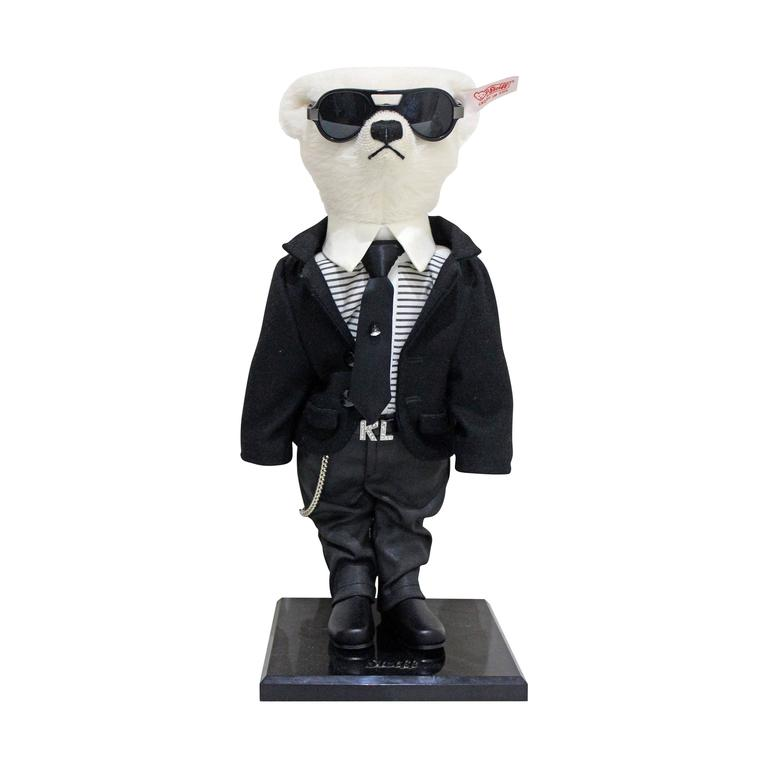 Collectors Limited Edition Steiff Karl Lagerfeld Teddy Bear c. 2009