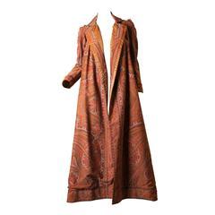Victorian Paisley Coat