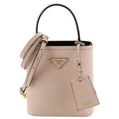 Prada Panier Bucket Bag Saffiano Leather Small