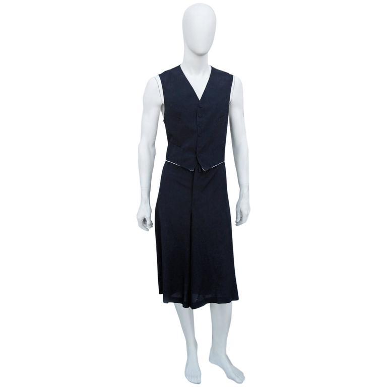 Jean Paul Gaultier Men's Skirt Suit - Single Sex Dressing 2