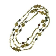 Chanel Iconic Sautoir Necklace by Goossens
