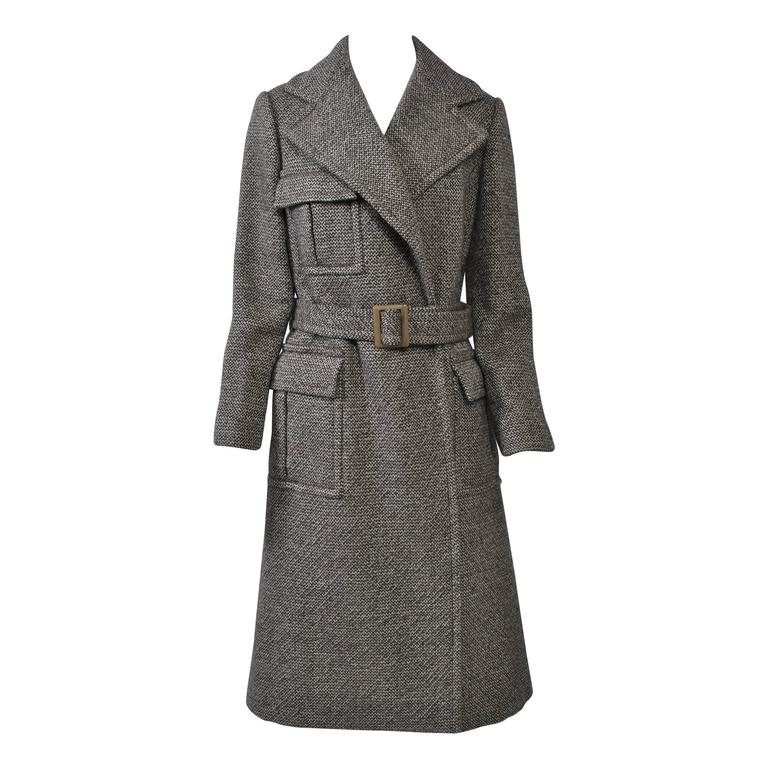 Bill Blass Tweed Coat, 1970s