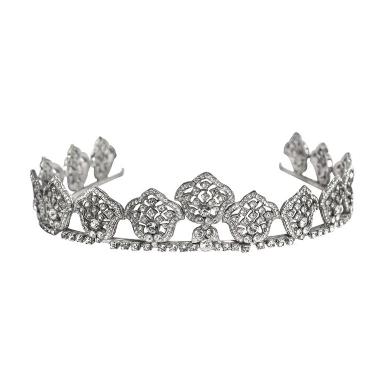 Bergdorf Goodman Kate Middleton Look-a-Like 1930s Style  Bridal Tiara 1