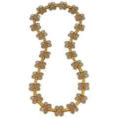 Kenneth Jay Lane Rock Crystal Chain