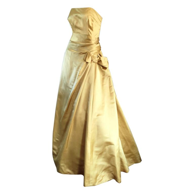 Exceptional 1950s Harvey Berin For I Magnin Gold Vintage