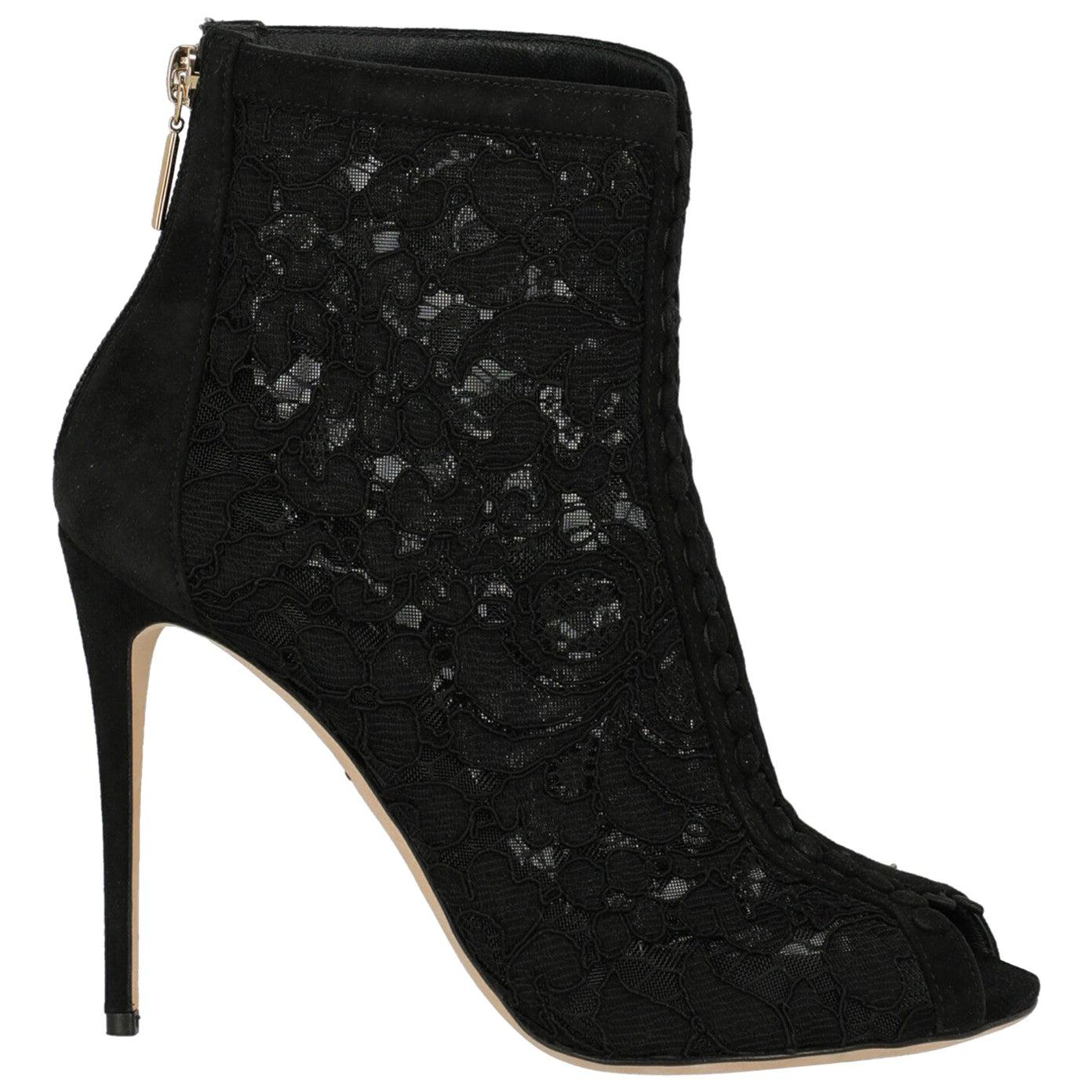 Dolce & Gabbana Woman Ankle boots Black IT 37