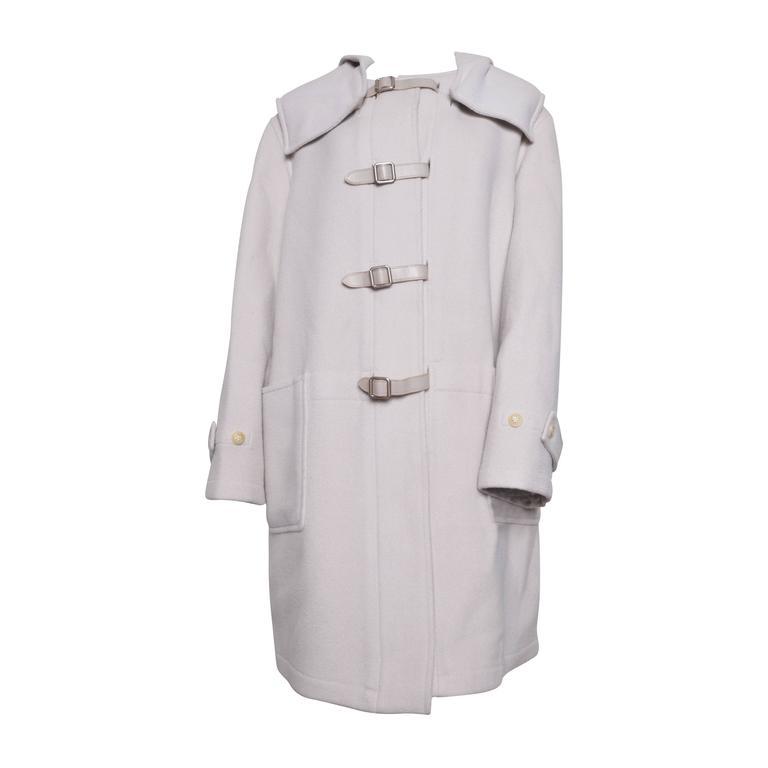 Herrmes Cashmere & Wool Hooded Coat