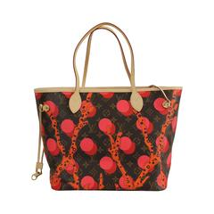 Louis Vuitton Monogram Canvas Limited Edition Neverfull Mm Ramages  Tote Bag