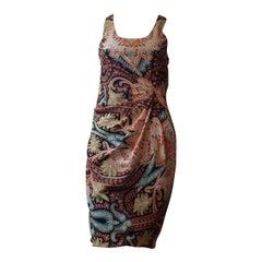 2012 Thakoon All Silk Paisley Dress (0)