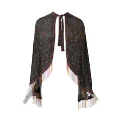Rare Art Deco Beaded Cape