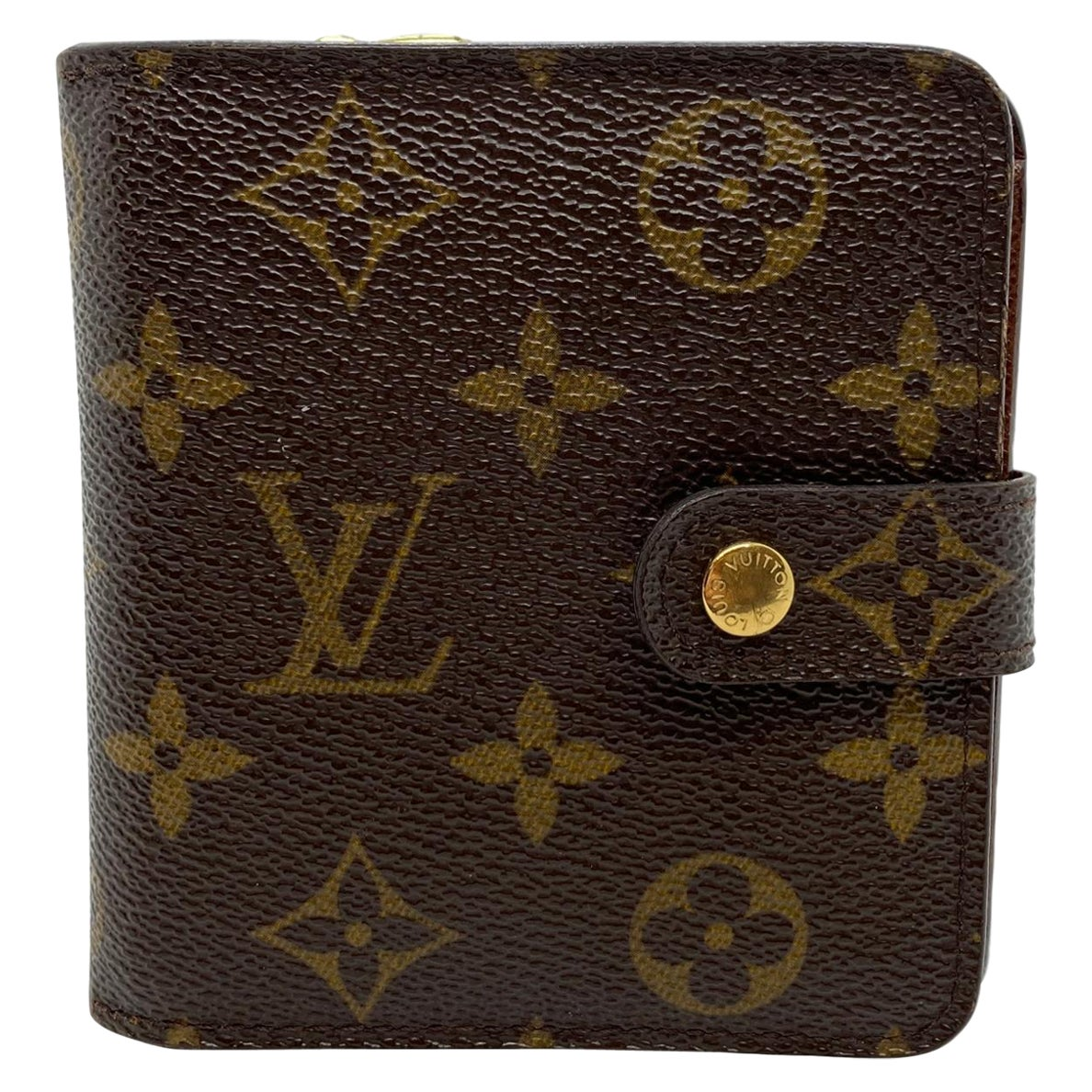 Louis Vuitton Compact Zip Monogram PM French Wallet, Spain 2005.