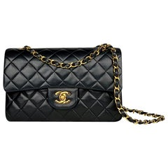 Chanel Black Small Classic Double Flap Bag