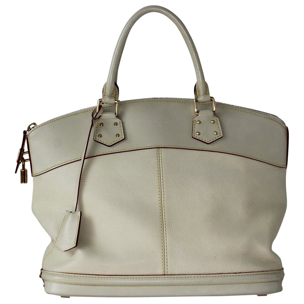 2010 Louis Vuitton White Handbag