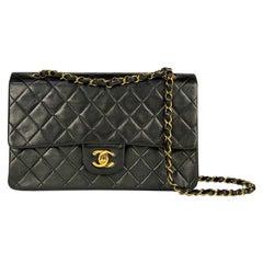 Chanel Black Medium Classic Double Flap Bag