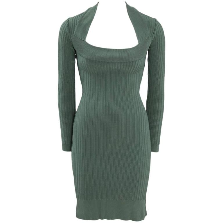 Alaïa Knit Sculptural Dress  1