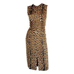 Beautifully Detailed Tom Ford for YSL Rive Gauche 2002 Safari Collection Dress!