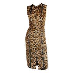 Reduced Price & Free Shipping Tom Ford YSL Rive Gauche SS2002 Silk Runway Dress!