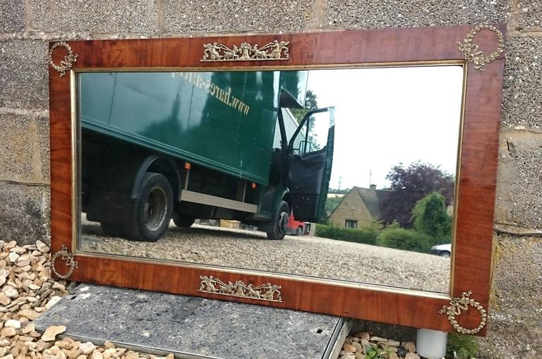 Antique French Empire Mirror In Good Condition For Sale In Gloucestershire, GB