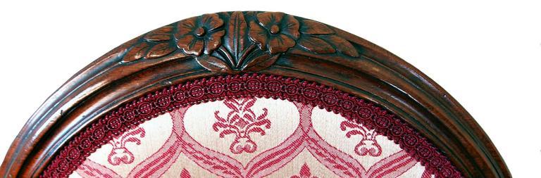 18th Century Antique Hepplewhite Period Mahogany Armchair For Sale