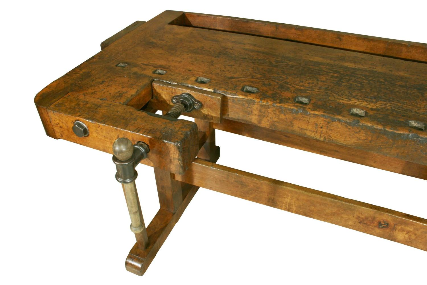 Creative Antique Woodworking Workbench At 1stdibs