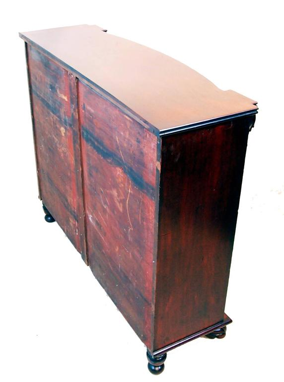 19th Century Antique Regency Mahogany Side Cupboard For Sale