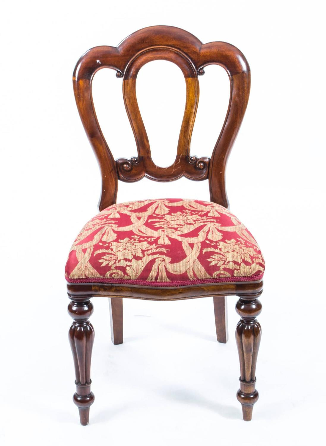 Victorian Style Admiralty Back Dining Chairs Set of Ten at ...