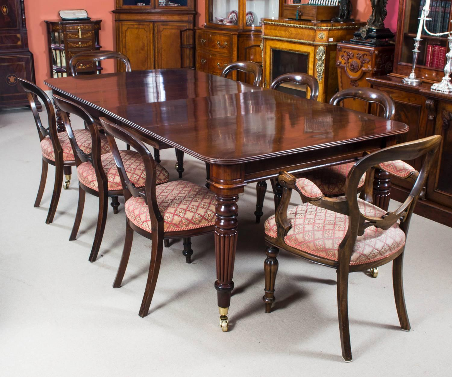 Antique Regency Mahogany Dining Table Circa 1820 At 1stdibs