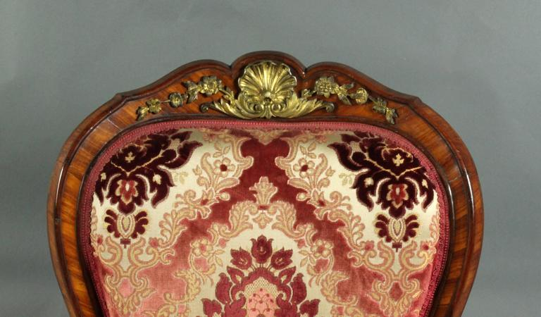 French Antique Pair of Armchairs For Sale