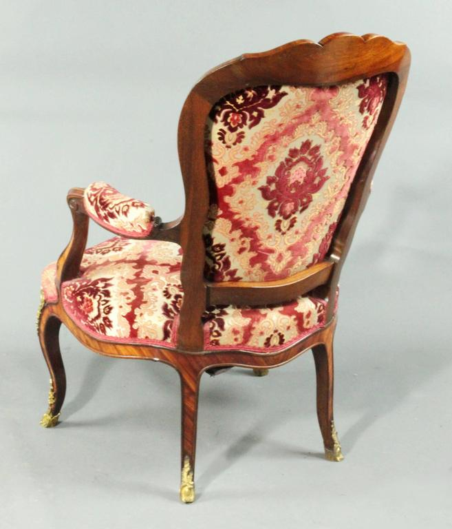 19th Century Antique Pair of Armchairs For Sale