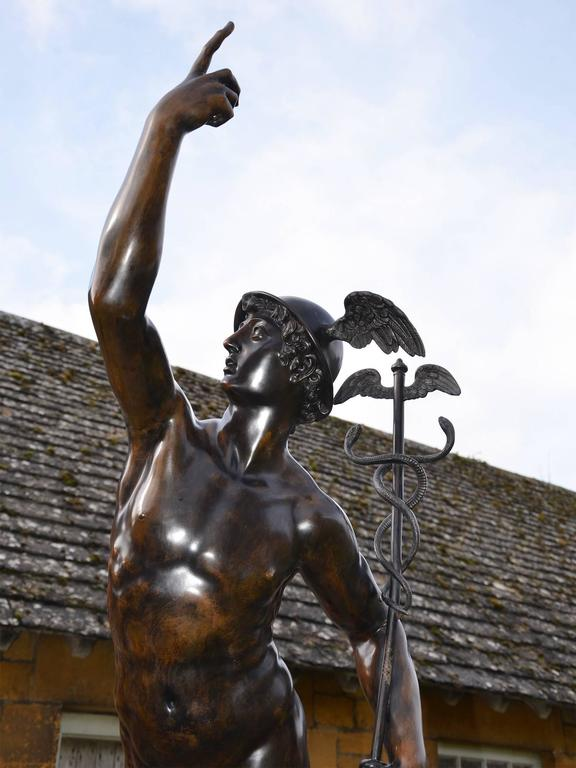 Fine 20th Century Bronze Mercury After Giambologna At 1stdibs