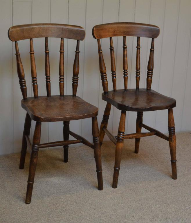 Set Of Six Windsor Chairs At 1stdibs