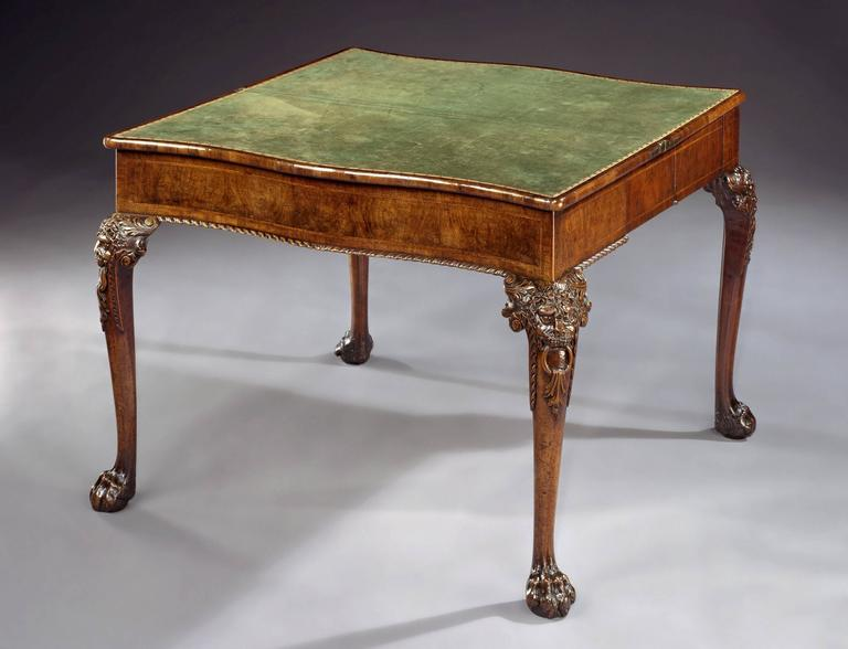 Percival D Griffiths Card Table For Sale at 1stdibs