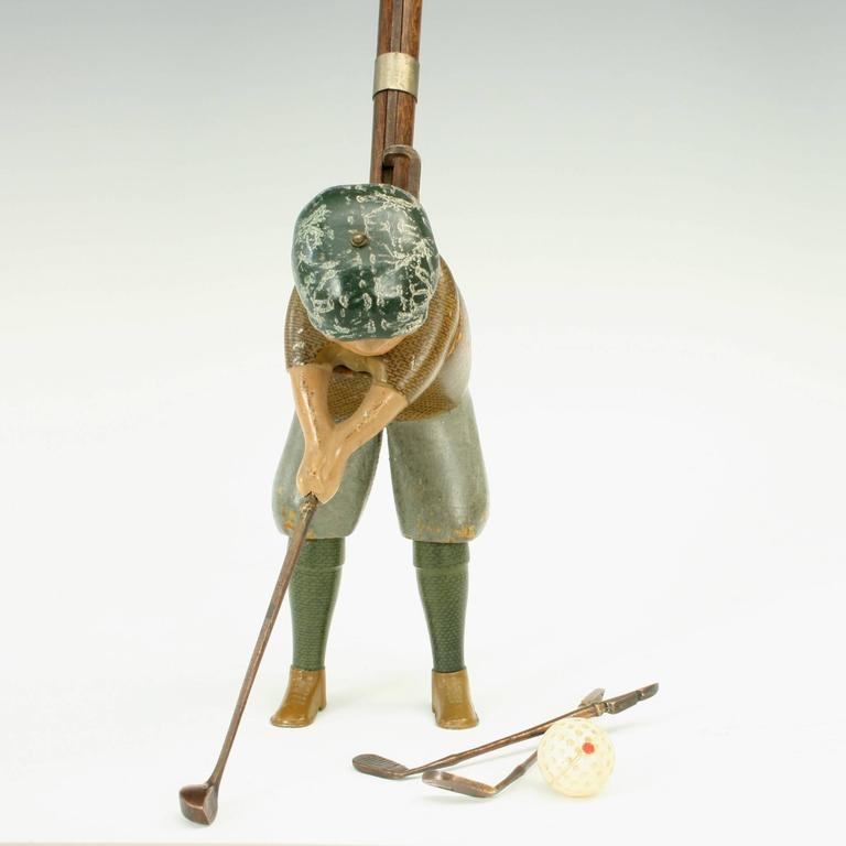 American Antique Golf Toy by Schoenhut of Philadephia