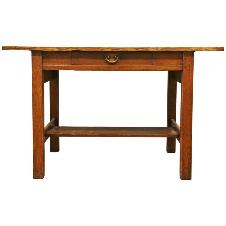 Gustav Stickley Library Table At 1stdibs