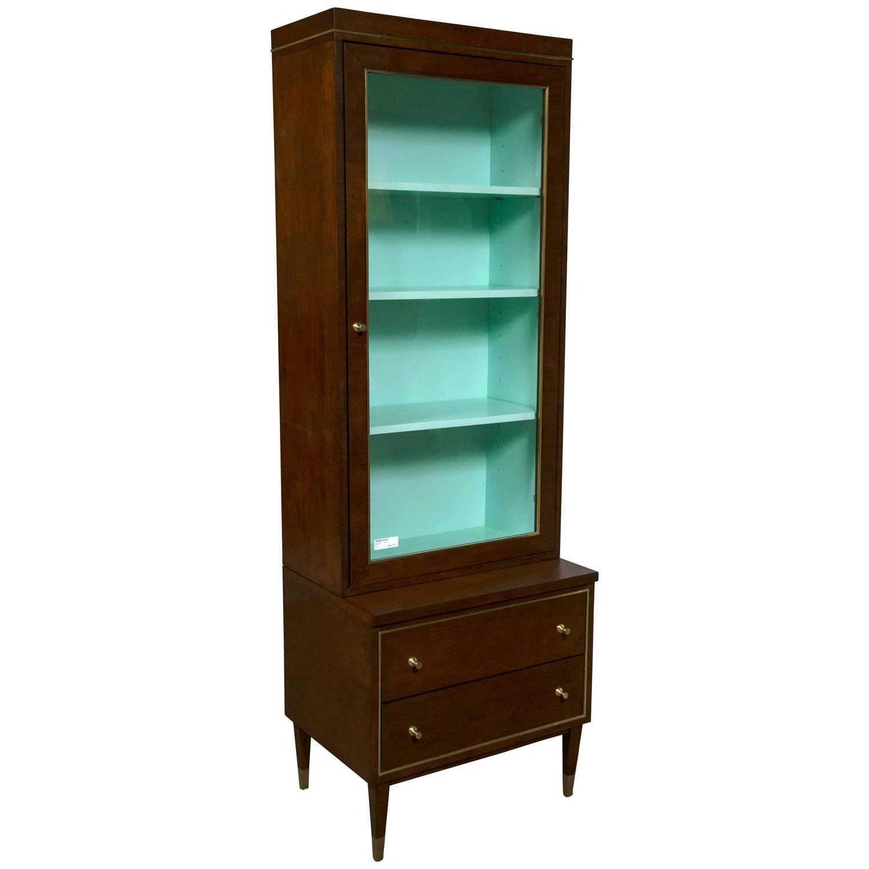 E J Victor Curio Calypso Cabinet For Sale at 1stdibs