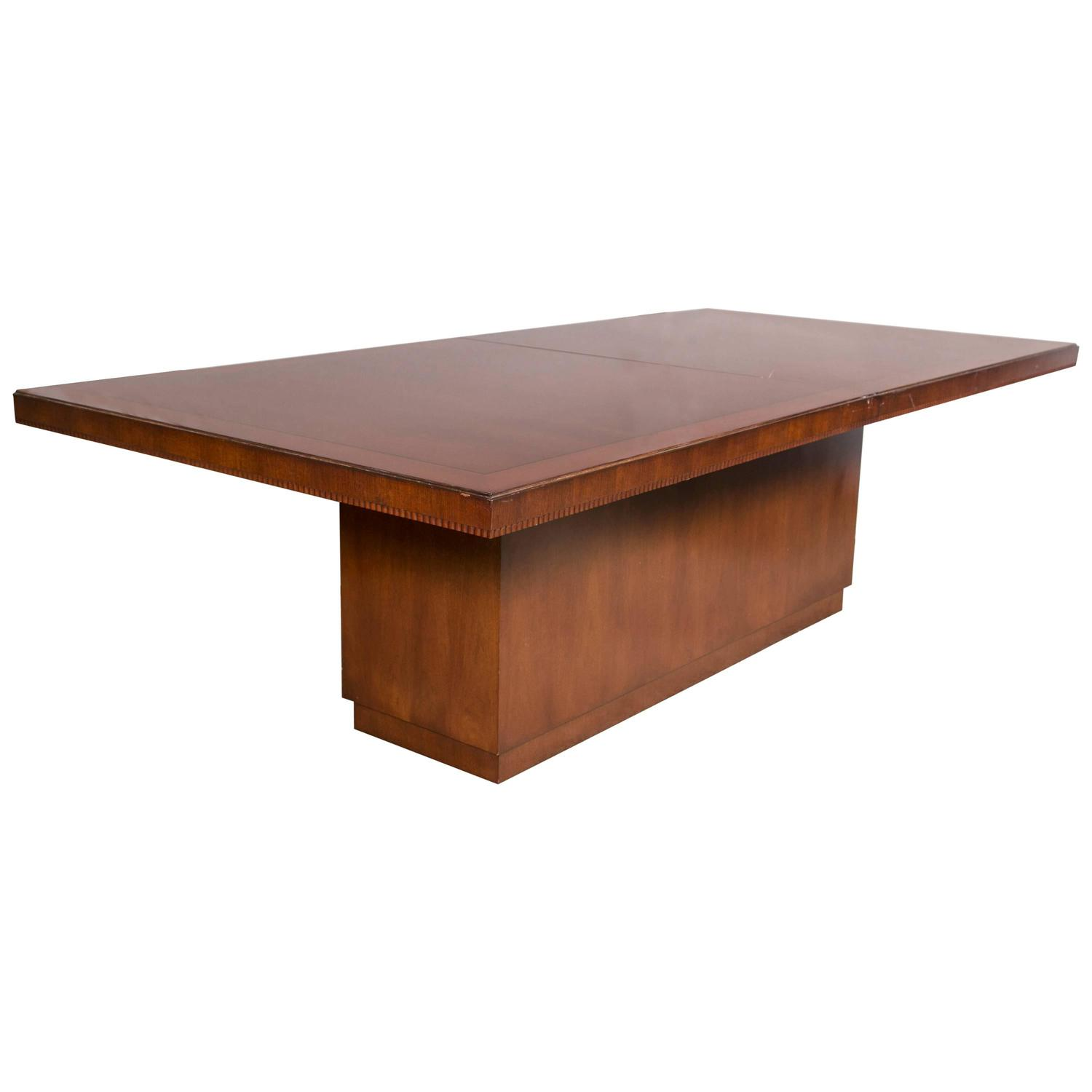 Superbe Ralph Lauren Palaical Modern Hollywood Dining Table At 1stdibs