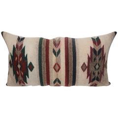 Geometric Navajo Indian Weaving Pillow
