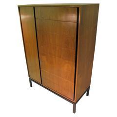 Mid-Century Modern Rosewood Tall Dresser