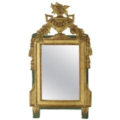 Pair of antique dutch marquetry mirrors for sale at 1stdibs for Miroir french to english
