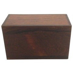 Danish Rosewood Box for Cards