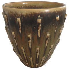 Royal Copenhagen Stoneware Vase by Arno Malinowski