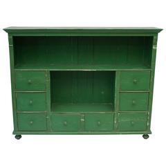 Painted Pine Side Cupboard