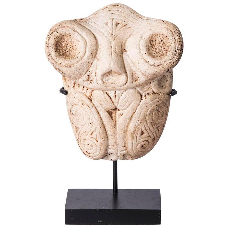 Sculpture Ta 237 No Culture Dominican Republic Bone At 1stdibs
